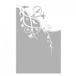 Naklejka na szyby Motyw florystyczny O10