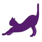 Naklejka welurowa dekoracyjna Kot W12