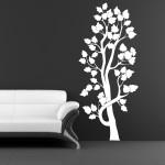 Szablon na ścianę Drzewo S6