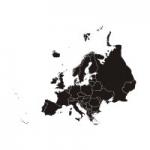Naklejka na ścianę Mapa Europy M8