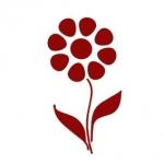 Naklejka na ścianę Kwiatek M5