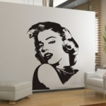 Naklejka na ścianę Marilyn Monroe M14