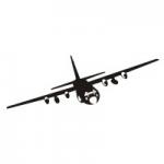 Naklejka na ścianę Samolot C-130 nr M15