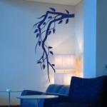 Szablon dekoracyjny na ścianę Gałązka S21