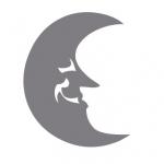 Szablon malarski Księżyc S1