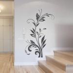 Naklejka na ścianę Kwiaty M2