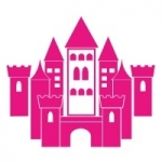 Szablon malarski Pałac księżniczki  S4