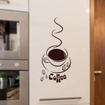 Szablon ścienny Filiżanka Coffee S16