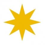 Naklejka ścienna Gwiazda M5