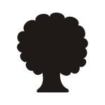 Naklejka tablica kredowa Drzewo T2