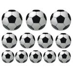 Naklejki Piłki nożne w zestawie K7 - 12 sztuk