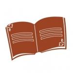 Naklejka ścienna Książka M4
