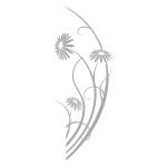 Ozdoba na lustro Flora L9