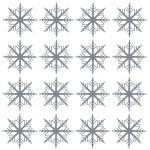Naklejki dekoracyjne Zimowe śnieżki M12