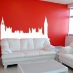 Szablon dekoracyjny miasto Londyn S10