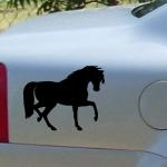 Naklejka na samochód Koń A9