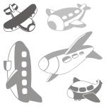 Szablony malarskie Samoloty S10