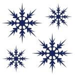 Naklejki dekoracyjne Płatki śniegu M4