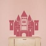 Naklejka na ścianę Zamek księżniczki M18