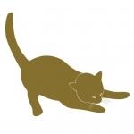 Naklejka matowa Kot M15