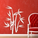 Naklejka Bambusy na ścianę M6