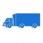 Szablon do malowania Samochód ciężarowy S1
