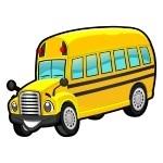 Naklejka Autobus szkolny K10