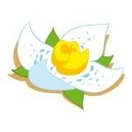 Naklejka ścienna Kwiatek K4