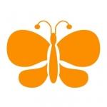 Szablon malarski Motylek S11