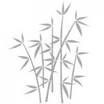 Naklejka na szybę Bambus O3