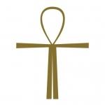 Naklejka ścienna Krzyż Atlantów M14
