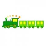 Naklejka Pociąg K4