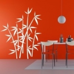 Naklejka na ścianę Bambusy M13