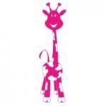 Naklejka na ścianę dla dziecka Żyrafa M13