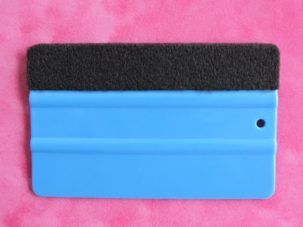 Rakla niebieska do aplikacji naklejki ściennej