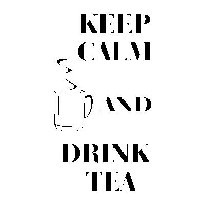 Szablony Napisy Po Angielsku Kepp Calm And Drink Tea S12