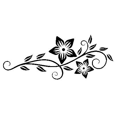 Szablon ścienny Kwiatowy Motyw S29 Szablony Malarskie