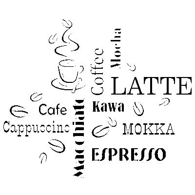 Szablony Malarskie Latte Cafe S2 Szablony Malarskie Do