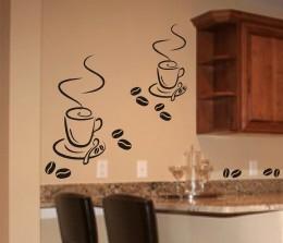 Szablony Do Malowania Filizanki Kawy S6 Szablony Malarskie Do Kuchni Dekoracja Sciany W Kuchni Wikam