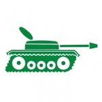 Naklejka na ścianę Czołg M10