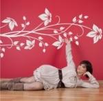 Naklejka na ścianę Kwiaty M16