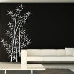 Szablon do malowania na ścianie Bambus S11