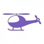 Szablon malarski dla dzieci Helikopter S3