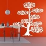 Naklejka matowa drzewo Bonsai M11