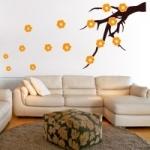 Naklejka dekoracyjna Gałązka drzewa M29