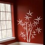 Naklejka dekoracyjna Bambusy M8
