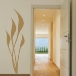 Naklejka welurowa na ścianę Flora W23