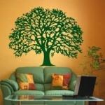 Szablon malarski Drzewo dębu S3