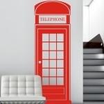 Szablon dekoracyjny Angielska budka telefoniczna S18