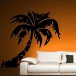 Szablon malarski Drzewo palmowe S14